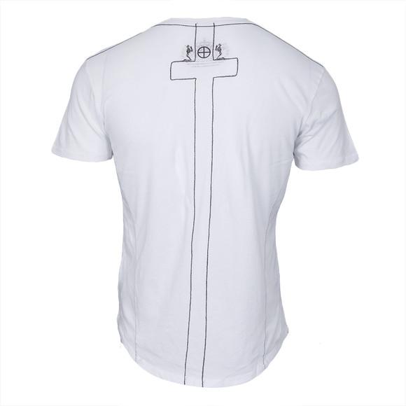 Religion Mens White Plain Crew Neck T-Shirt main image