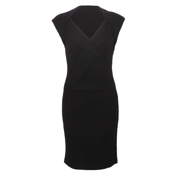 Ted Baker Dixy Cross Over Fitted Dress