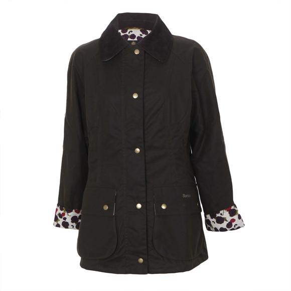 Barbour Printed Beadnell Wax Jacket