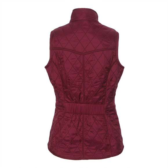 Barbour Lifestyle Womens Pink Cavalry Gilet main image
