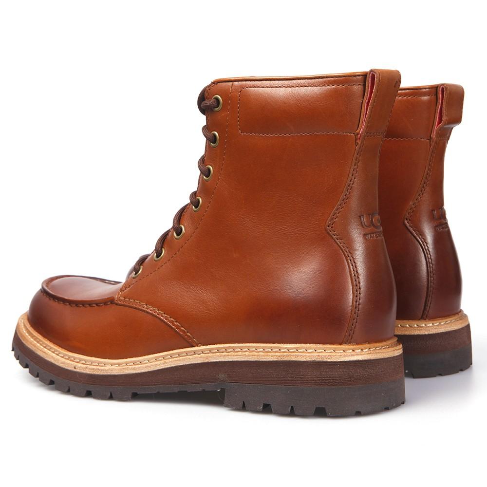 0c3f10976b1 Mens Brown Ugg Noxon Chestnut Leather Boot