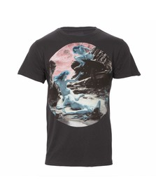 Paul Smith Jeans Mens Black Paul Smith Jeans Nymphs Crew Tee
