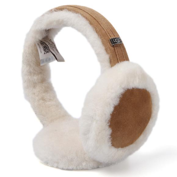 Ugg Womens Brown Ugg Classic Earmuff With Speaker Technology main image