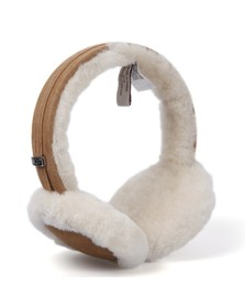 Ugg Womens Brown Ugg Classic Earmuff With Speaker Technology