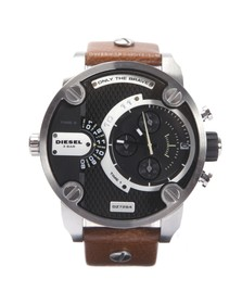 Diesel Mens Brown Diesel DZ7264 Little Daddy Chrono Watch
