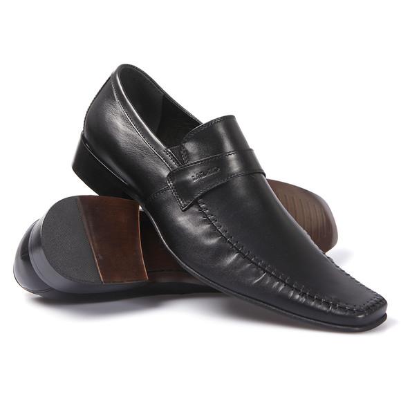 Lacuzzo Mens Black Lacuzzo L1805 Slip On Shoe main image