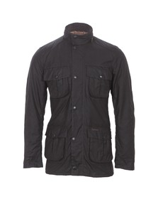 Barbour Lifestyle Mens Brown Corbridge Wax Jacket