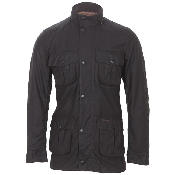 Barbour Lifestyle Mens Brown Corbridge Wax Jacket main image