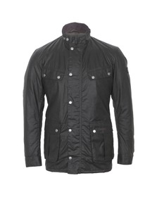 Barbour International Mens Green Duke Wax Jacket