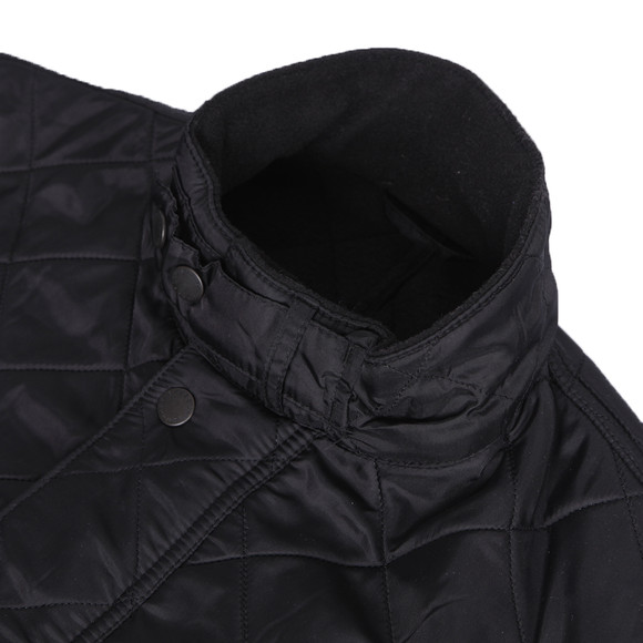 Barbour International Mens Black Ariel Polarquilt Jacket main image