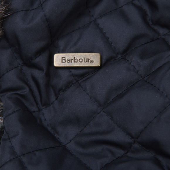 Barbour Lifestyle Boys Blue Barbour Boys Margrove Trapper Hat main image