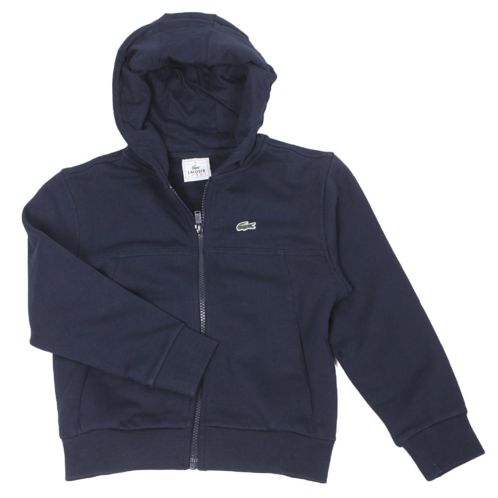488c3a7b4b623 Lacoste Boys SJ0212 Marine Hoodie   Oxygen Clothing