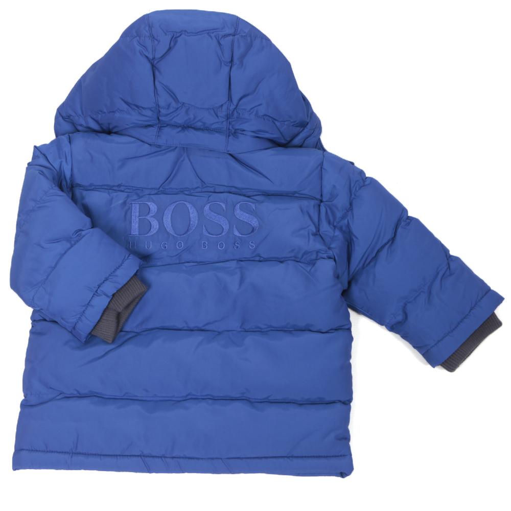 99daf89d1f0b Boss Boys J06076 Electric Blue Puffer Jacket main image