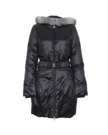 EA7 Emporio Armani Womens Black Mountain Puffy LD Jacket