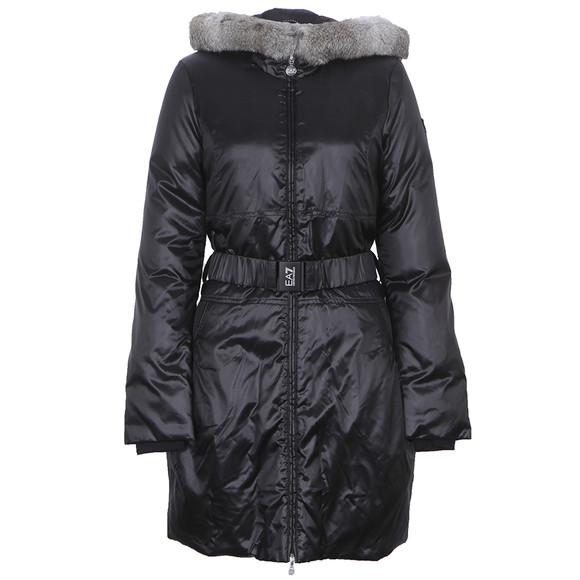 EA7 Emporio Armani Black Mountain Puffy LD Jacket