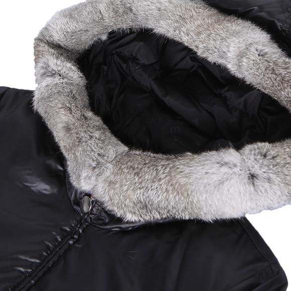 EA7 Emporio Armani Womens Black Mountain Puffy LD Jacket main image