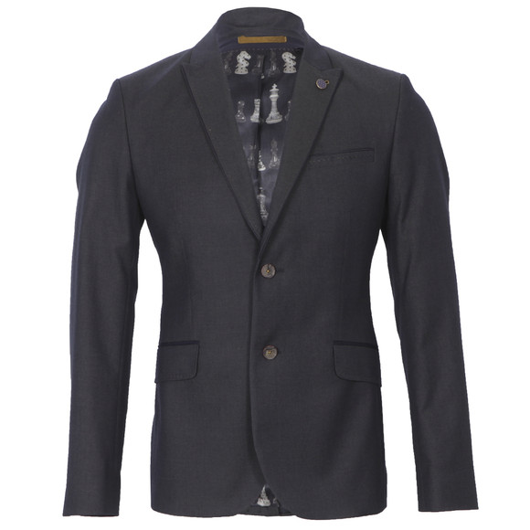 Ted Baker Mens Blue Ted Baker Cotton Wool Twill Blazer main image