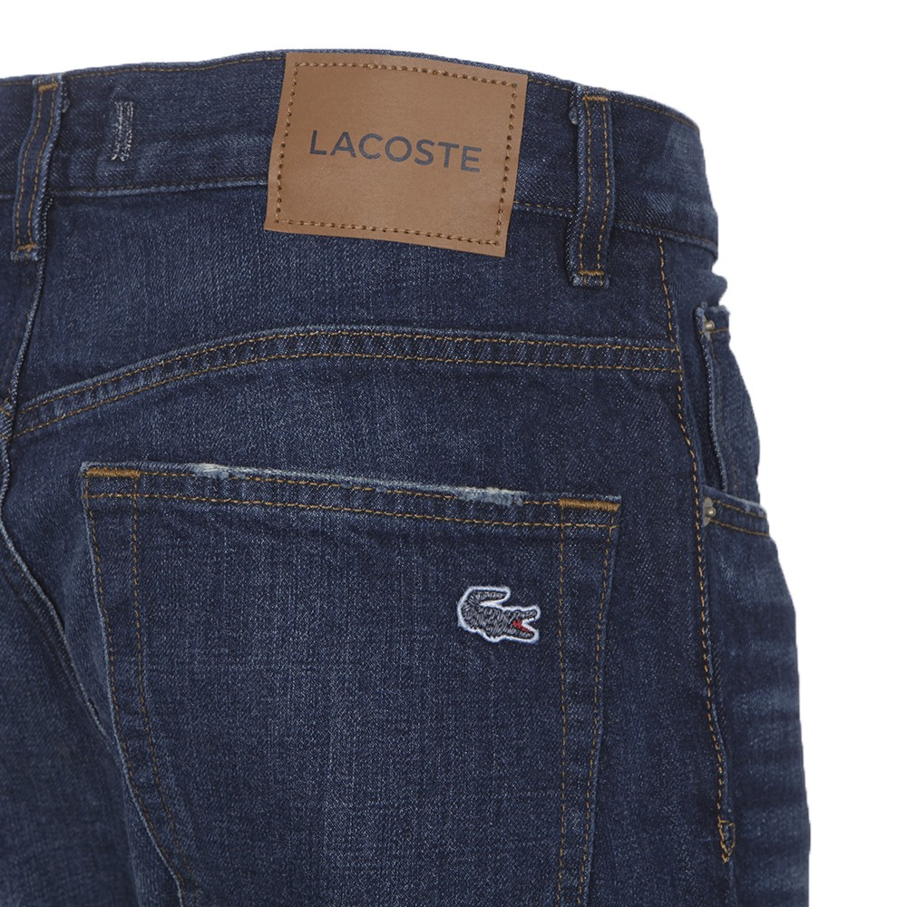 Lacoste Hh279 Medium Aged Relax Fit Jean Oxygen Clothing