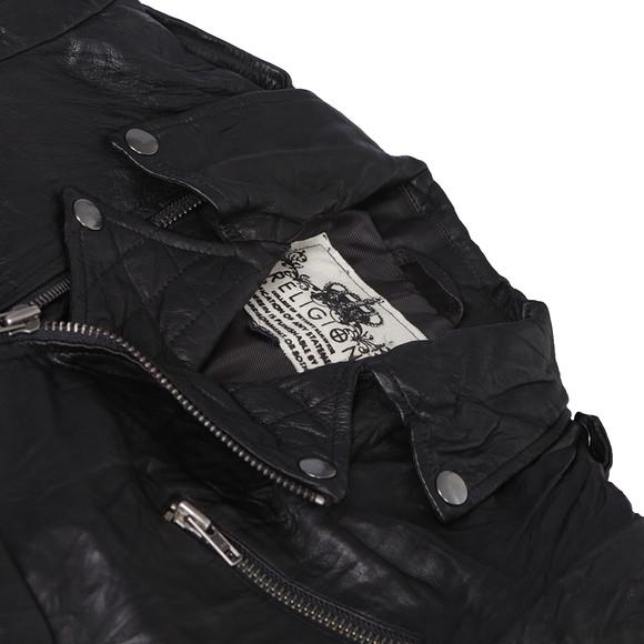 Religion Womens Black Hooper Leather Jacket main image