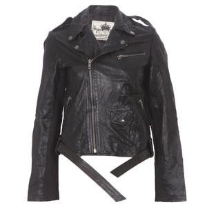 religion jet black hooper leather jacket