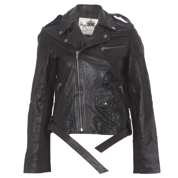 Religion Hooper Leather Jacket