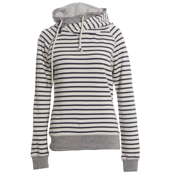 Maison Scotch Off White Navy Home Alone Sweat With Hood