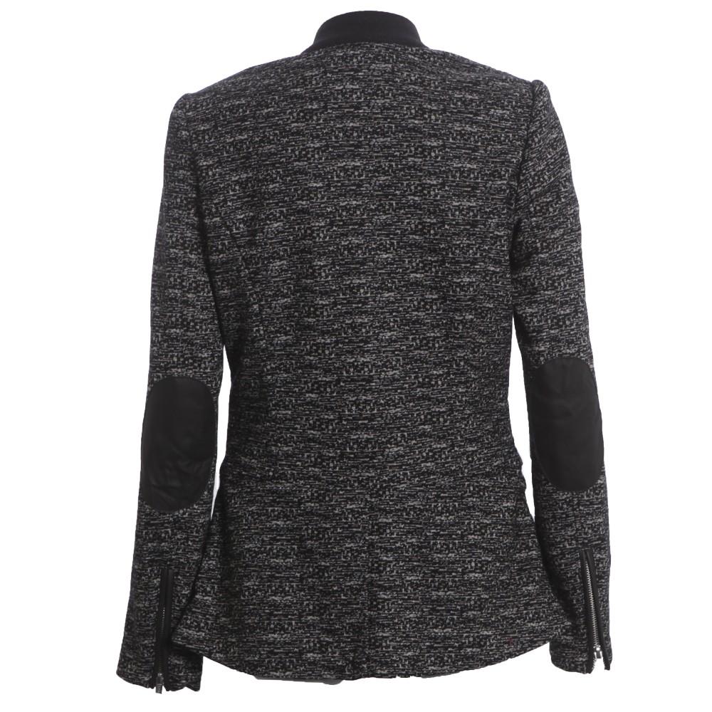 Unlined Stretch Wool Blazer main image