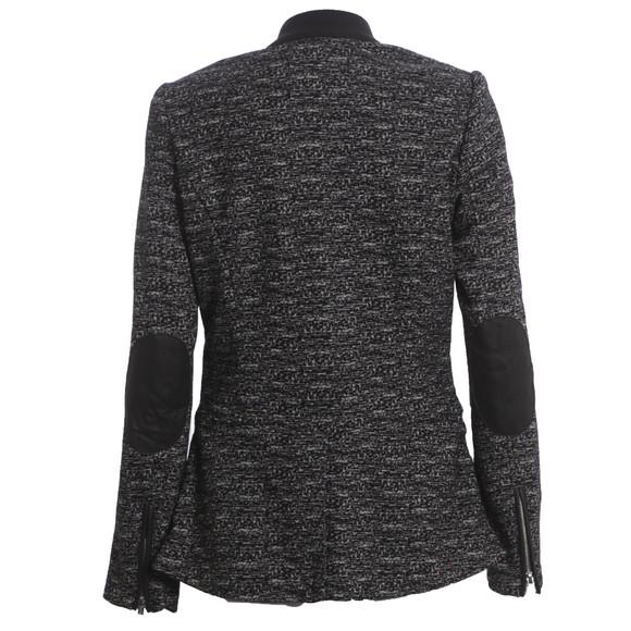 Maison Scotch Womens Black Unlined Stretch Wool Blazer main image