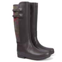 hunter sandhurst chaucer bitter chocolate boot