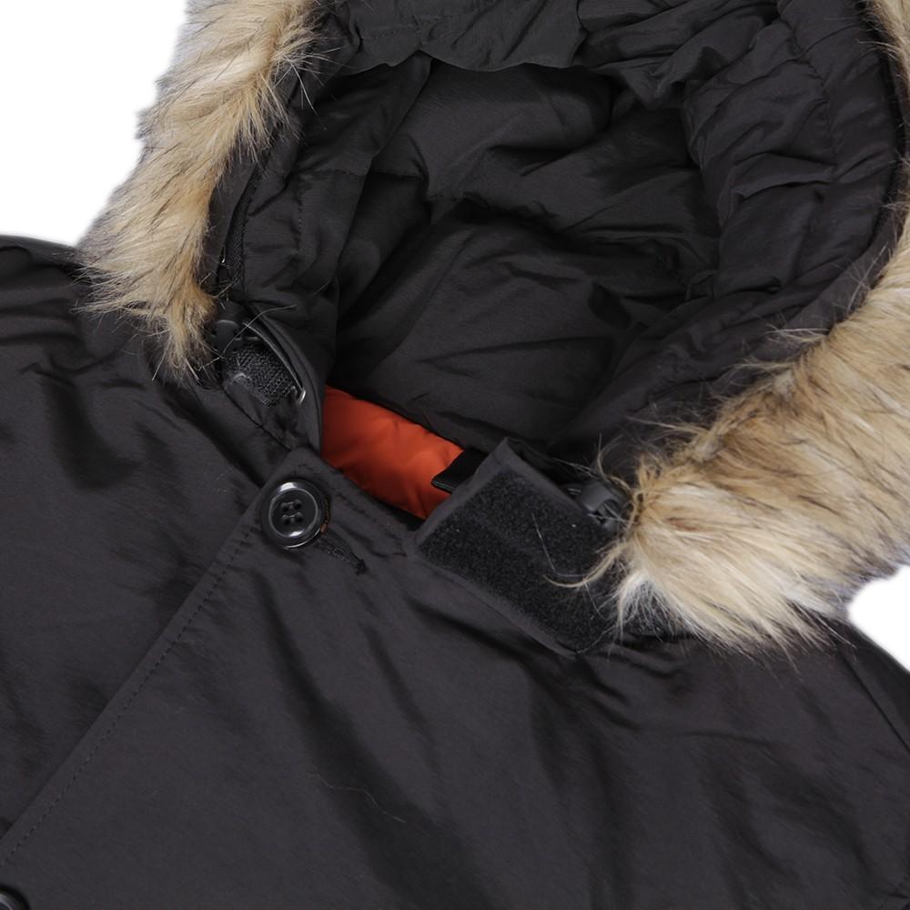 2e3247c5bcd Superdry Everest Black Coat main image
