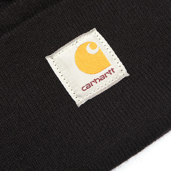 Carhartt WIP Mens Black Carhartt Watch Hat main image