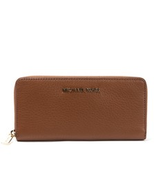 Michael Kors Womens Brown Bedford Continental Zip Purse