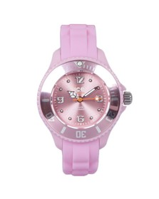 Ice-Watch Unisex Pink Mini Sili Watch