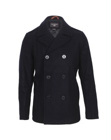 Dockers Mens Blue Dockers Modern Pea Coat