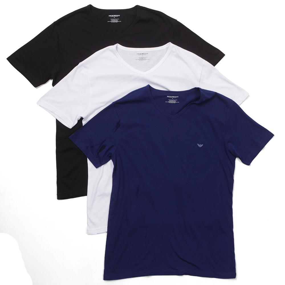Armani T-shirt à patch logo PVEqlR