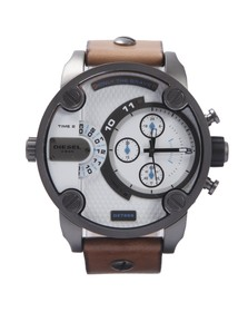 Diesel Mens Brown Diesel DZ7269 Little Daddy Chrono Watch