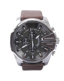 Diesel Mens Brown Diesel DZ4290 Mega Chief Watch