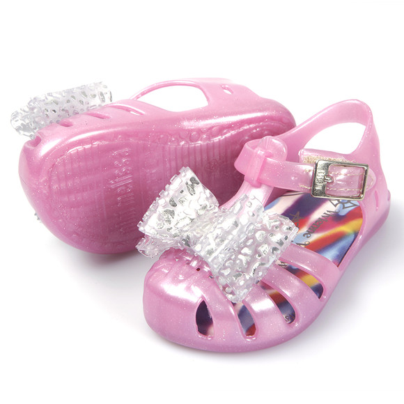 vivienne westwood anglomania x melissa mini aranha lace bow shoe