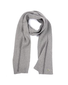 Lacoste Mens Grey Lacoste RE4212 Scarf