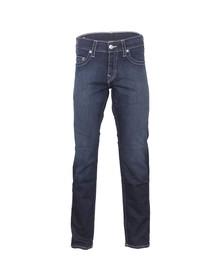 True Religion Mens Blue Geno Slim Jean