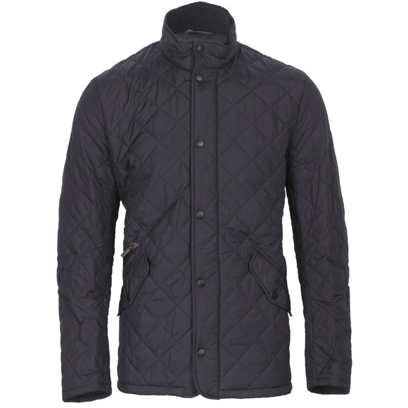 Barbour Lifestyle Mens Blue Chelsea Quilt Jacket main image