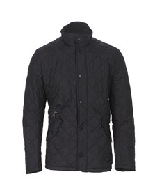 Barbour Lifestyle Mens Black Chelsea Quilt Jacket