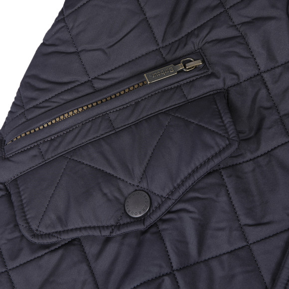 Barbour Lifestyle Mens Blue Powell Quilted Jacket main image