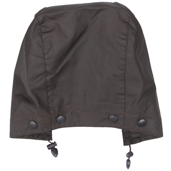 Barbour Lifestyle Mens Green Classic Sylkoil Hood