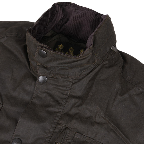 Barbour Lifestyle Mens Green Sapper Wax Jacket main image