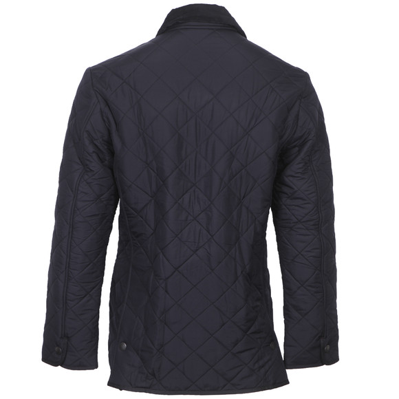 Barbour Lifestyle Mens Blue Bardon Quilted Jacket main image