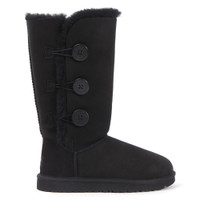ugg black bailey button triplet