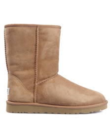 Ugg Womens Brown Classic Short Boot