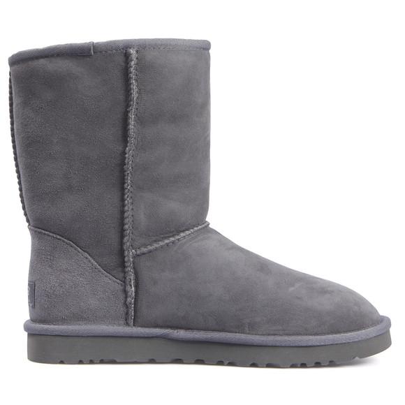 Ugg Womens Grey Classic Short Boot main image