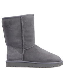 Ugg Womens Grey Classic Short Boot